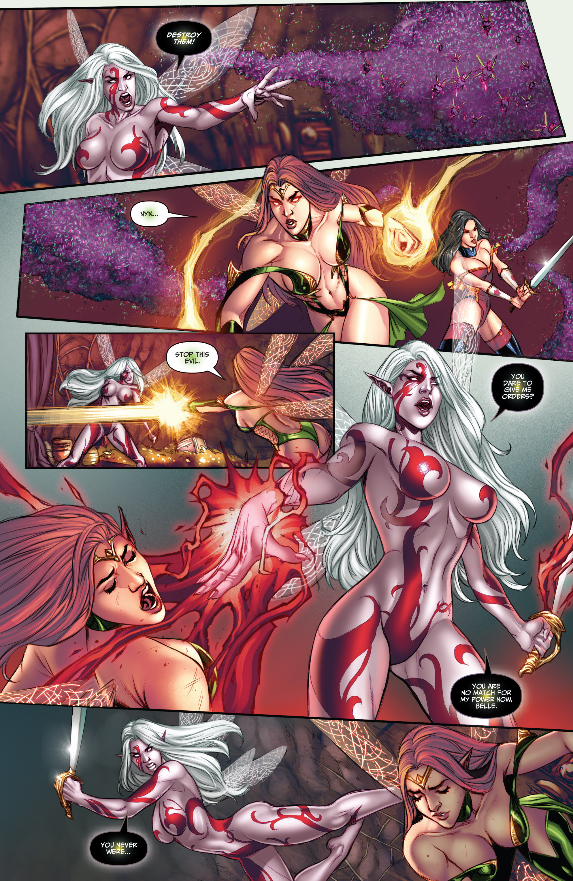 Read online Grimm Fairy Tales (2016) comic -  Issue #5 - 19