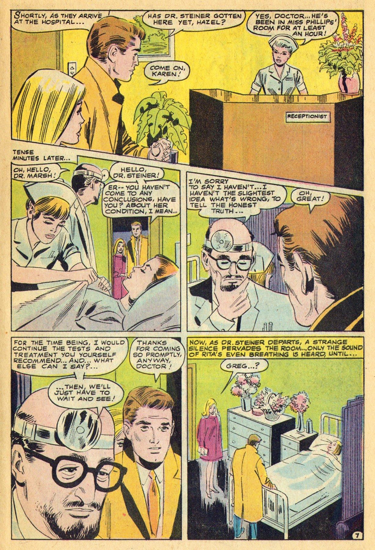 Read online Secret Hearts comic -  Issue #134 - 27