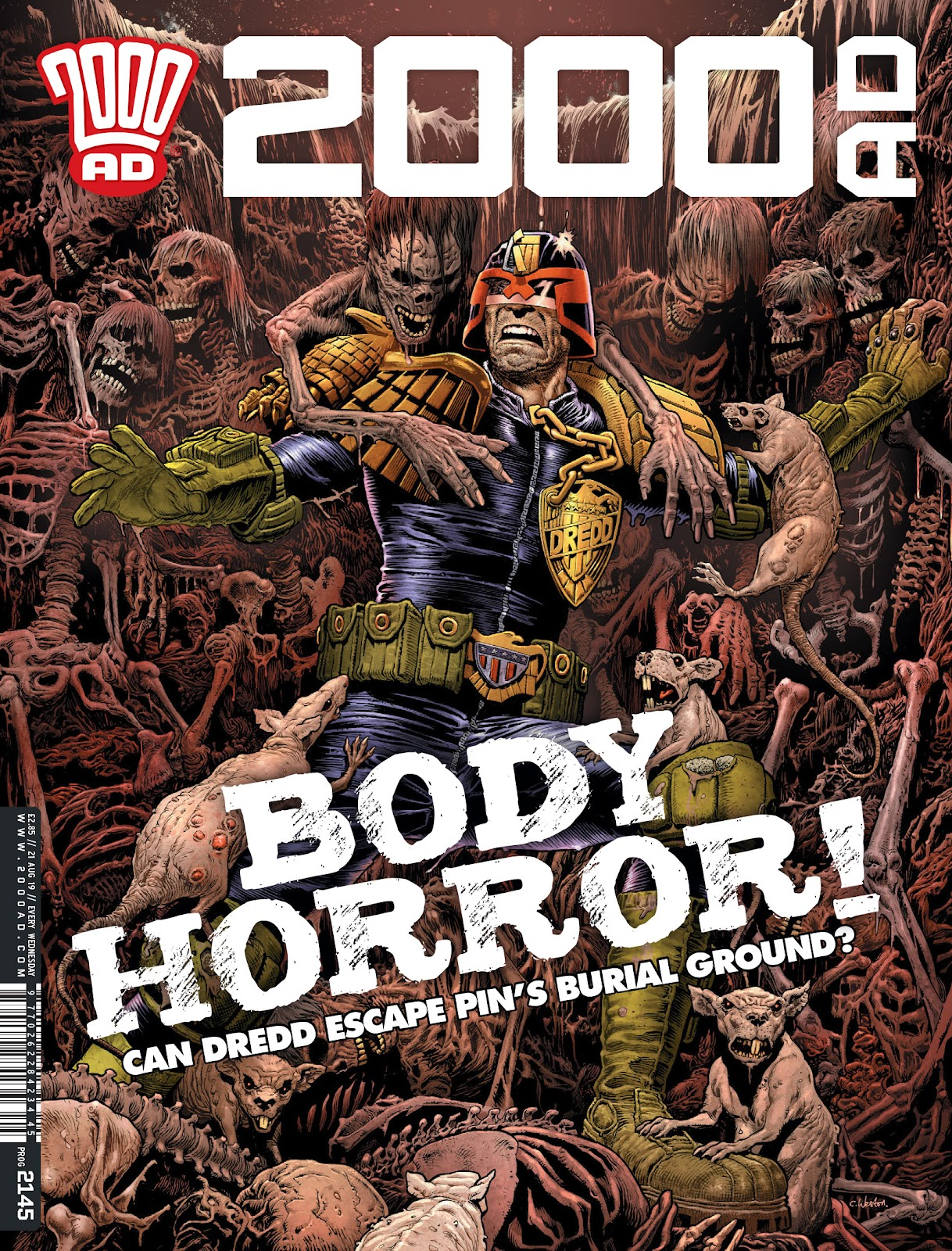 2000 AD issue 2145 - Page 1