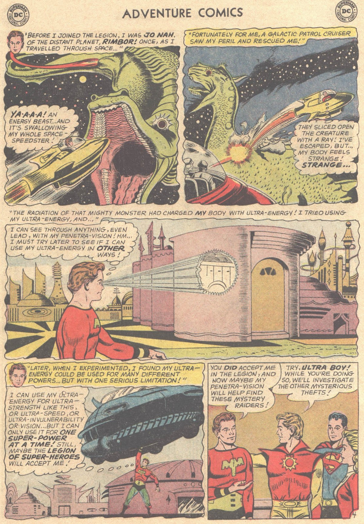Read online Adventure Comics (1938) comic -  Issue #316 - 6