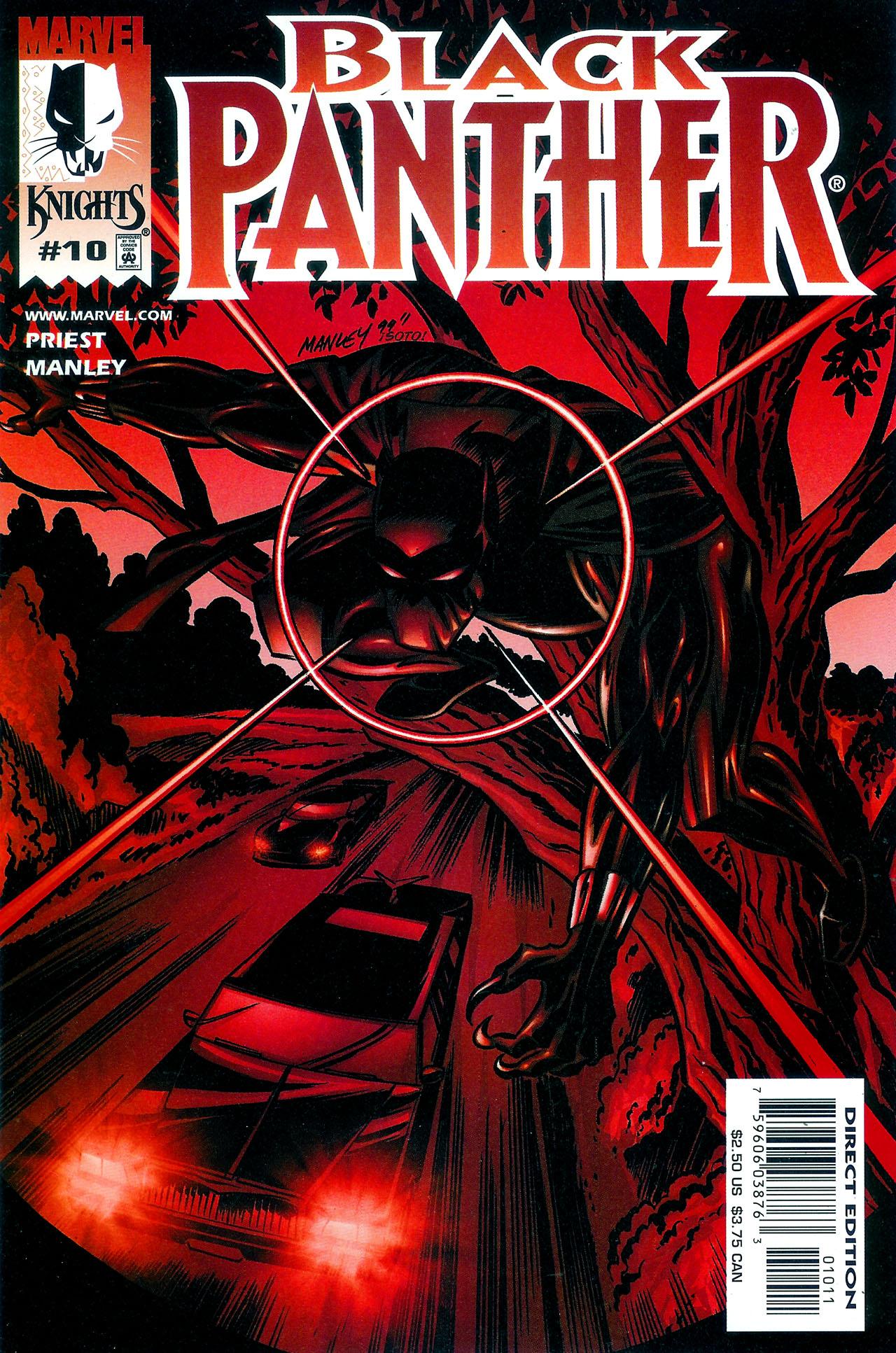 Black Panther (1998) 10 Page 1