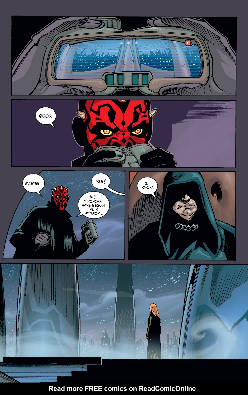 Read online Star Wars Legends: Rise of the Sith - Epic Collection comic -  Issue # TPB 1 (Part 4) - 92