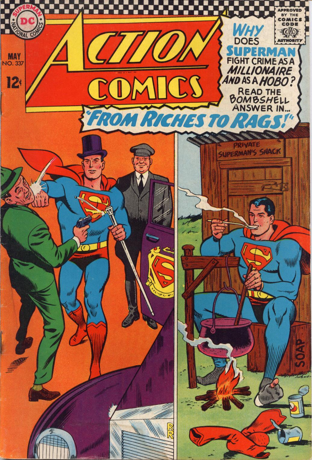 Read online Action Comics (1938) comic -  Issue #337 - 1
