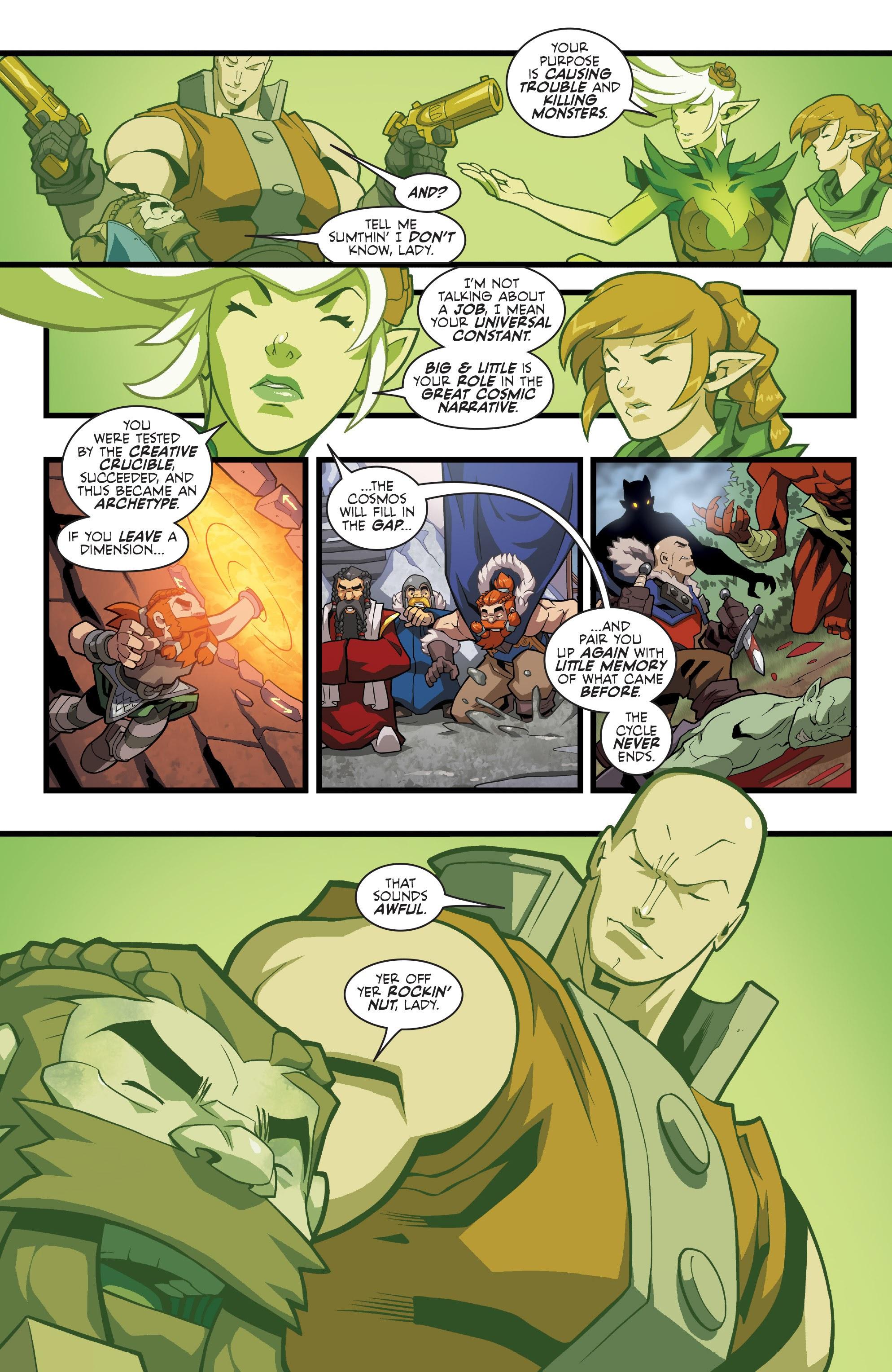 Read online Skullkickers comic -  Issue #100 - 11