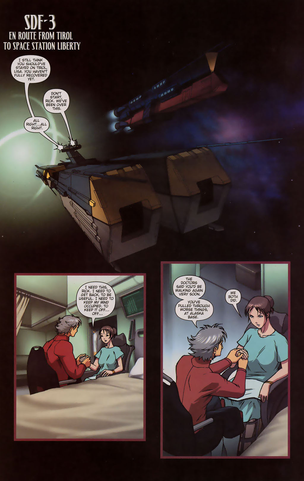 Read online Robotech: Prelude to the Shadow Chronicles comic -  Issue #3 - 7