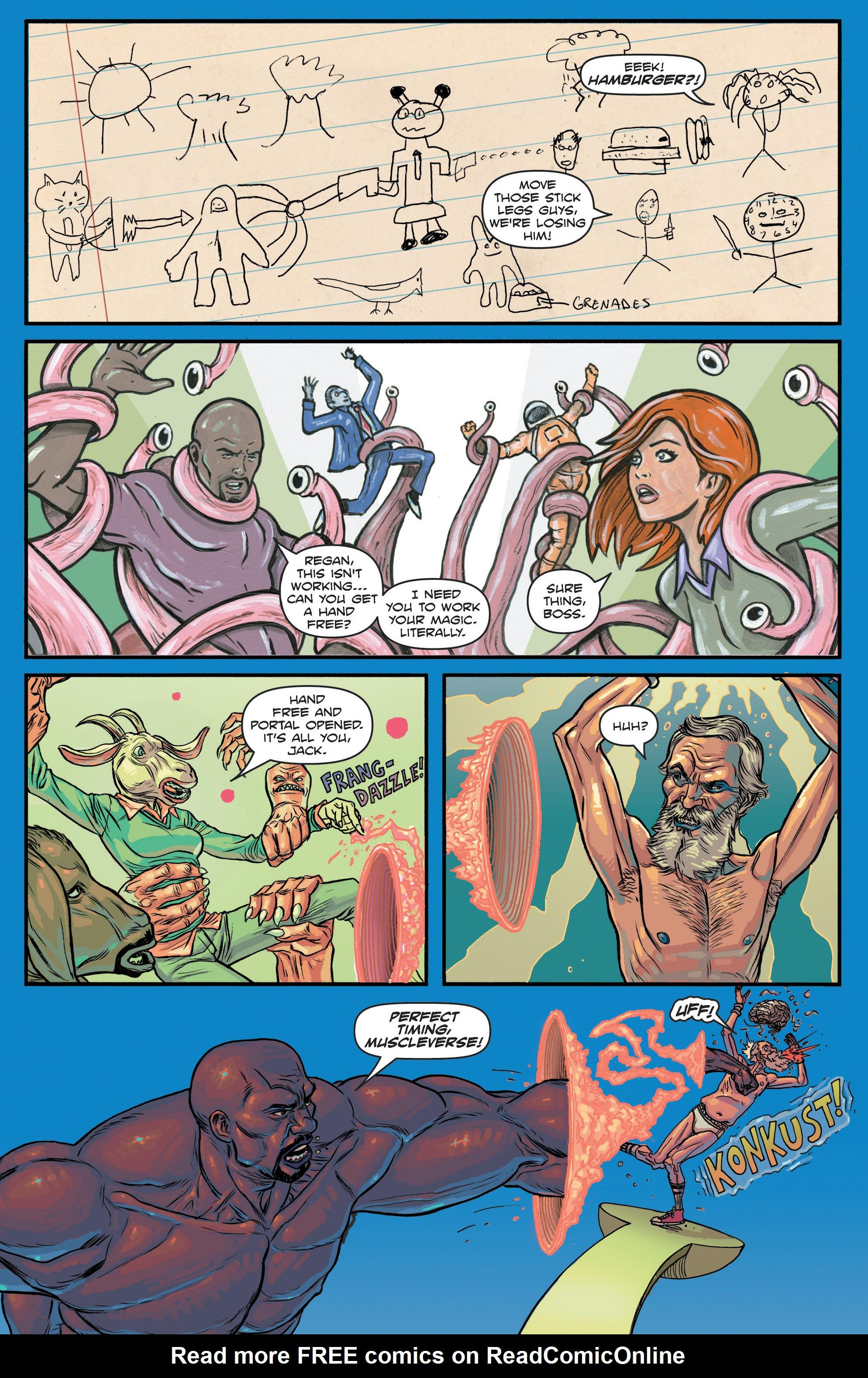 Read online Hoax Hunters (2012) comic -  Issue # TPB 3 - 113
