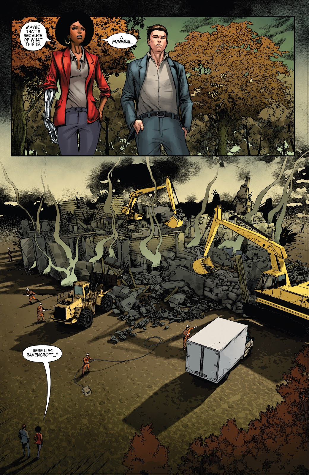 Read online Ruins Of Ravencroft comic -  Issue # Carnage - 4