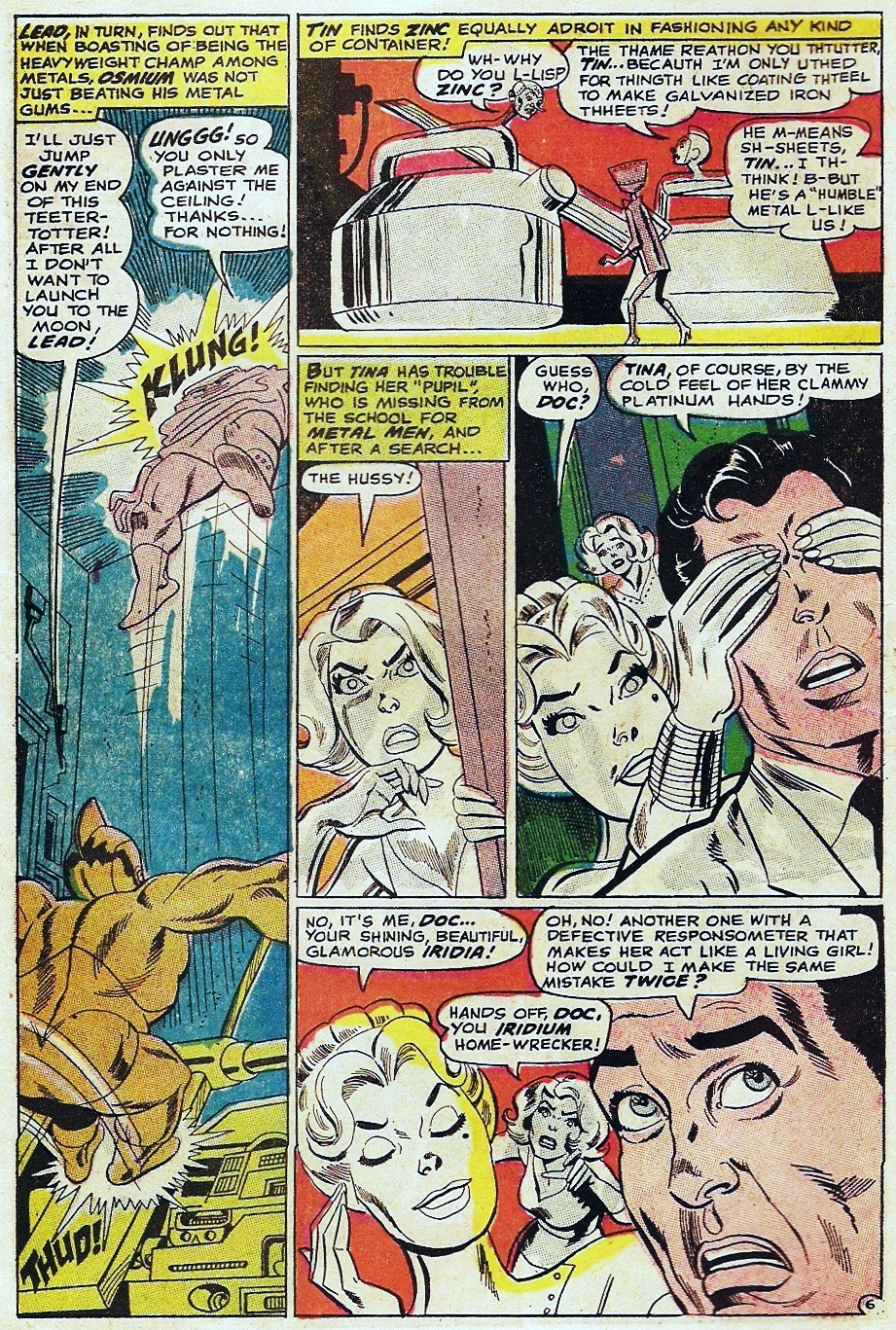 Metal Men (1963) issue 31 - Page 10