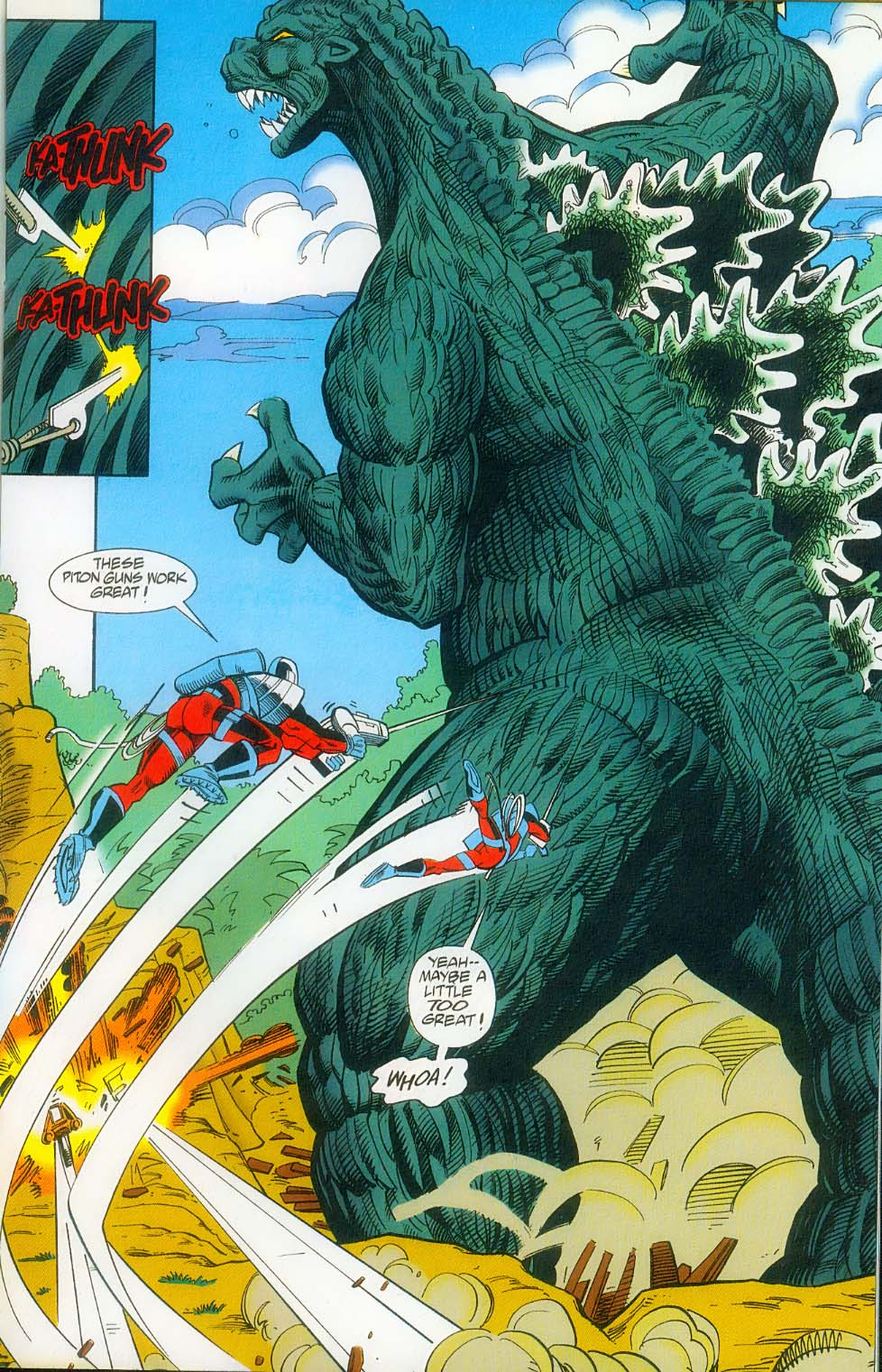 Godzilla (1995) Issue #14 #15 - English 16