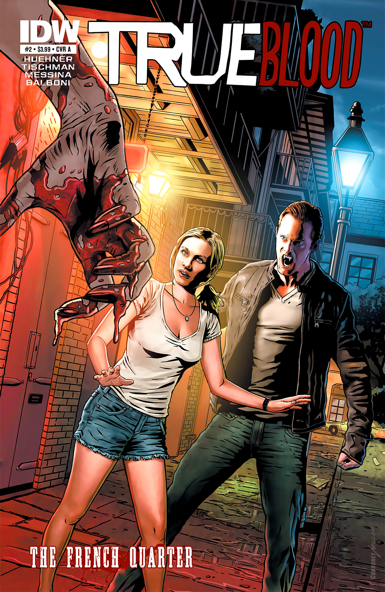 Read online True Blood: French Quarter comic -  Issue #2 - 1