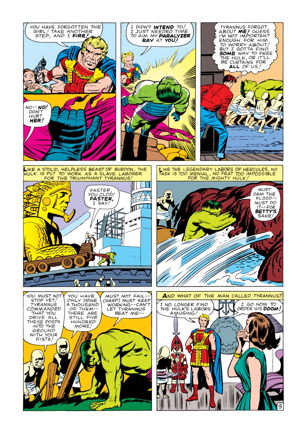 Read online Marvel Masterworks: The Incredible Hulk comic -  Issue # TPB 1 (Part 2) - 13