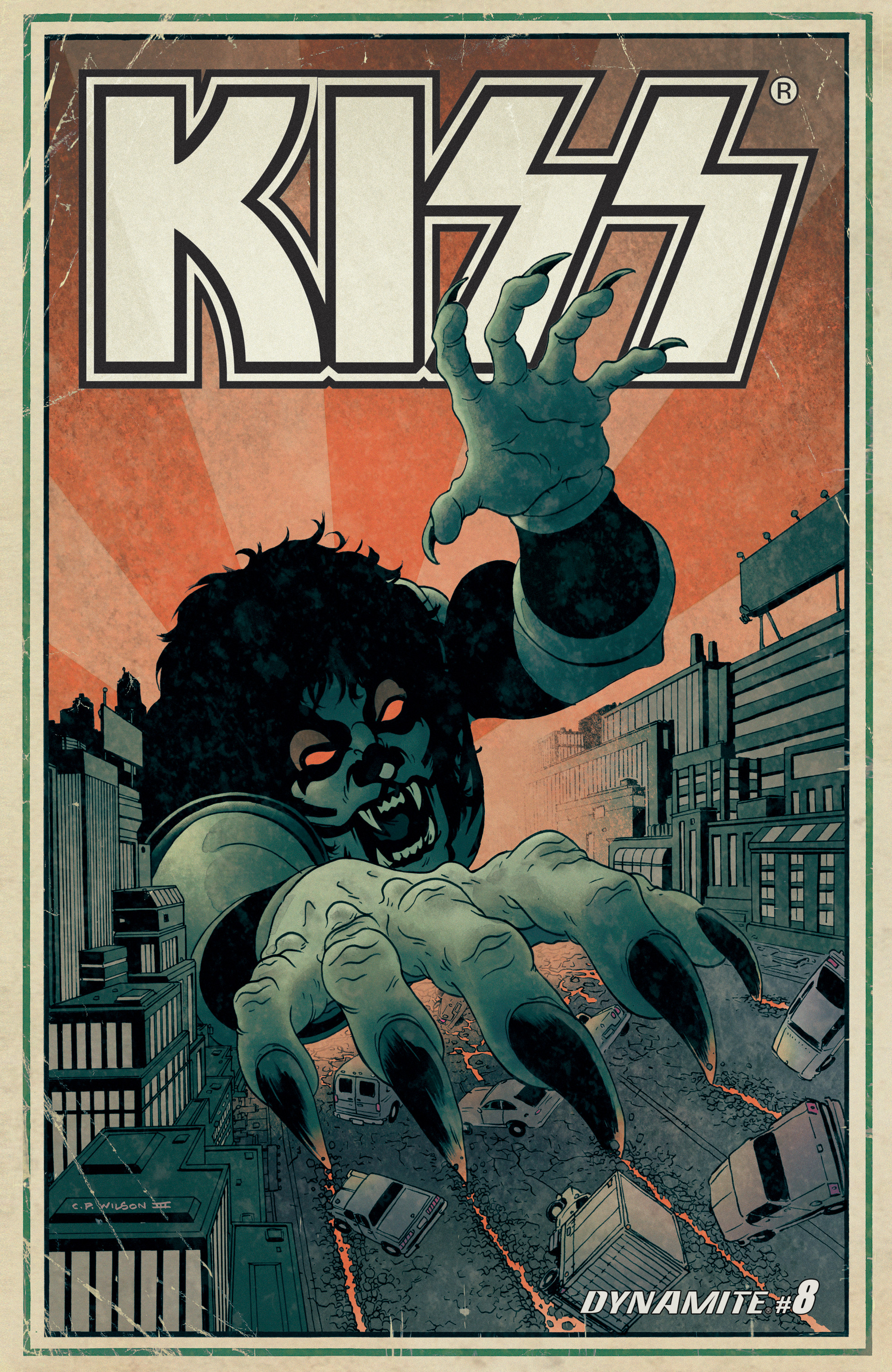 Read online KISS comic -  Issue #8 - 2