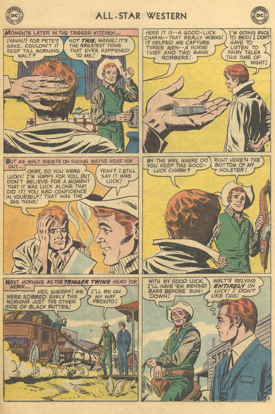 Read online All-Star Western (1951) comic -  Issue #108 - 29