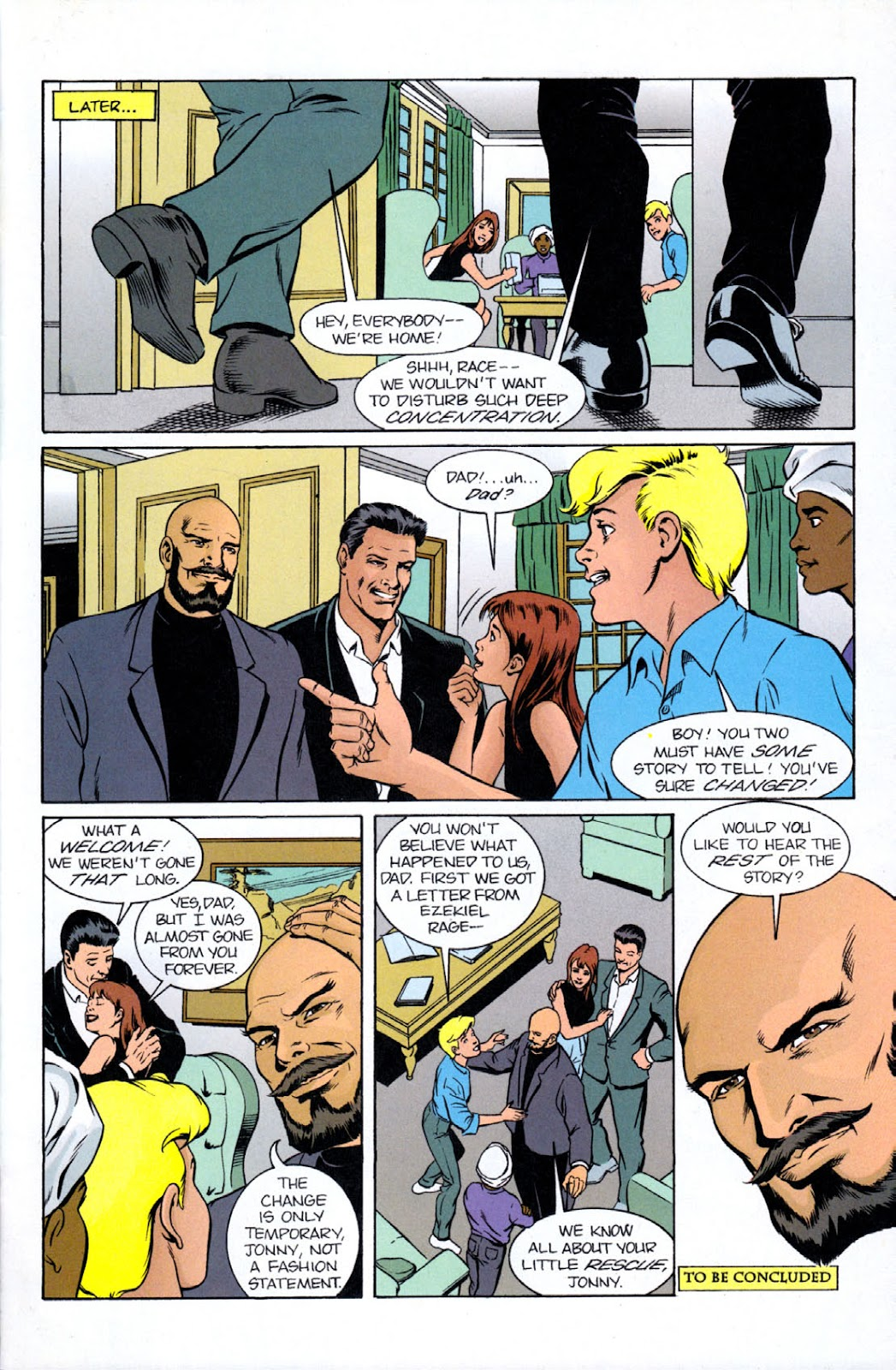 Read online The Real Adventures of Jonny Quest comic -  Issue #9 - 31