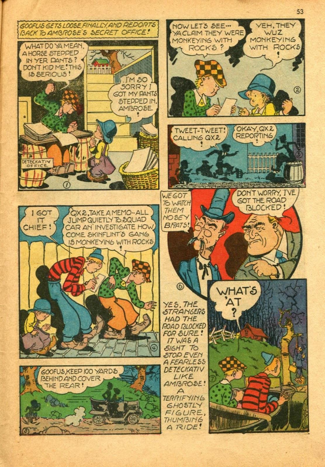 Read online Super-Magician Comics comic -  Issue #11 - 53