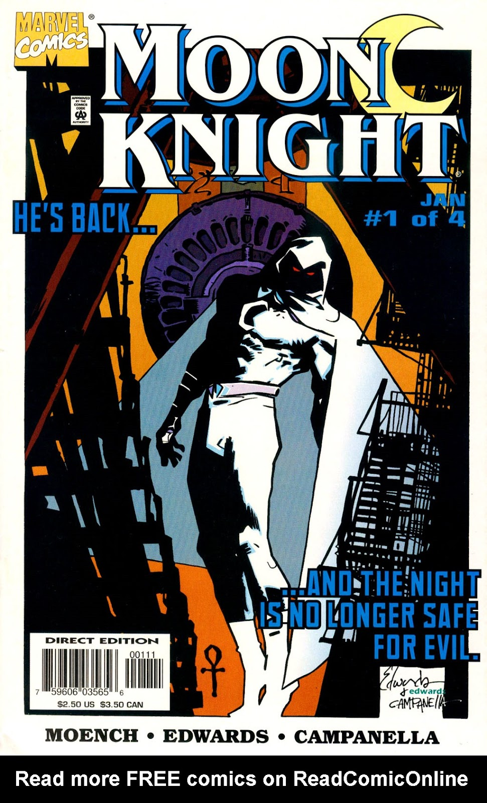 Moon Knight (1998) issue 1 - Page 1