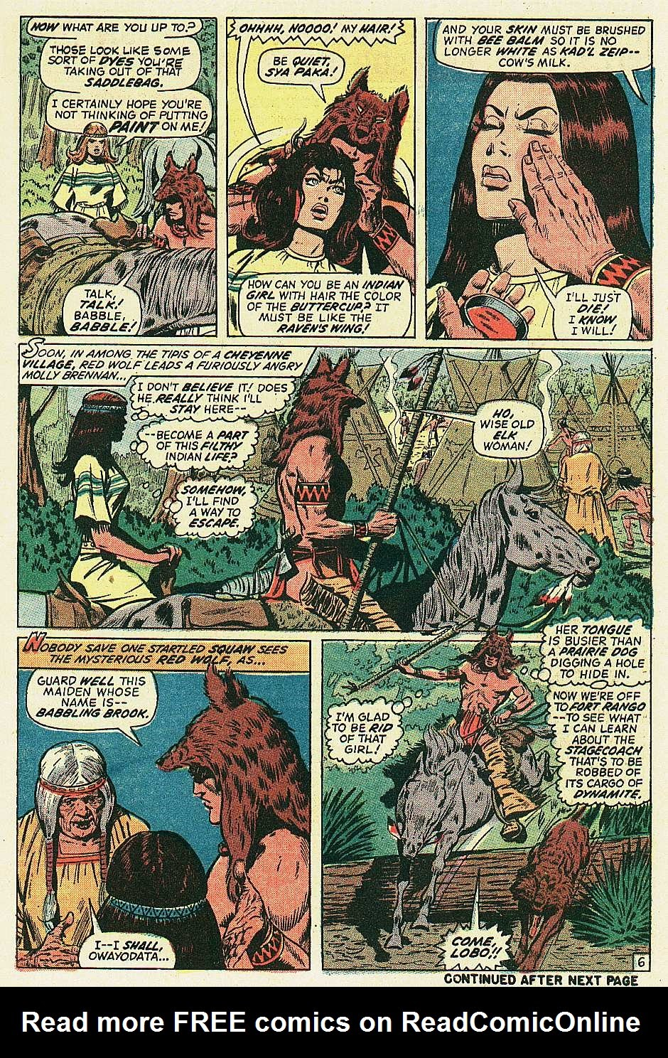 Red Wolf (1972) issue 2 - Page 7