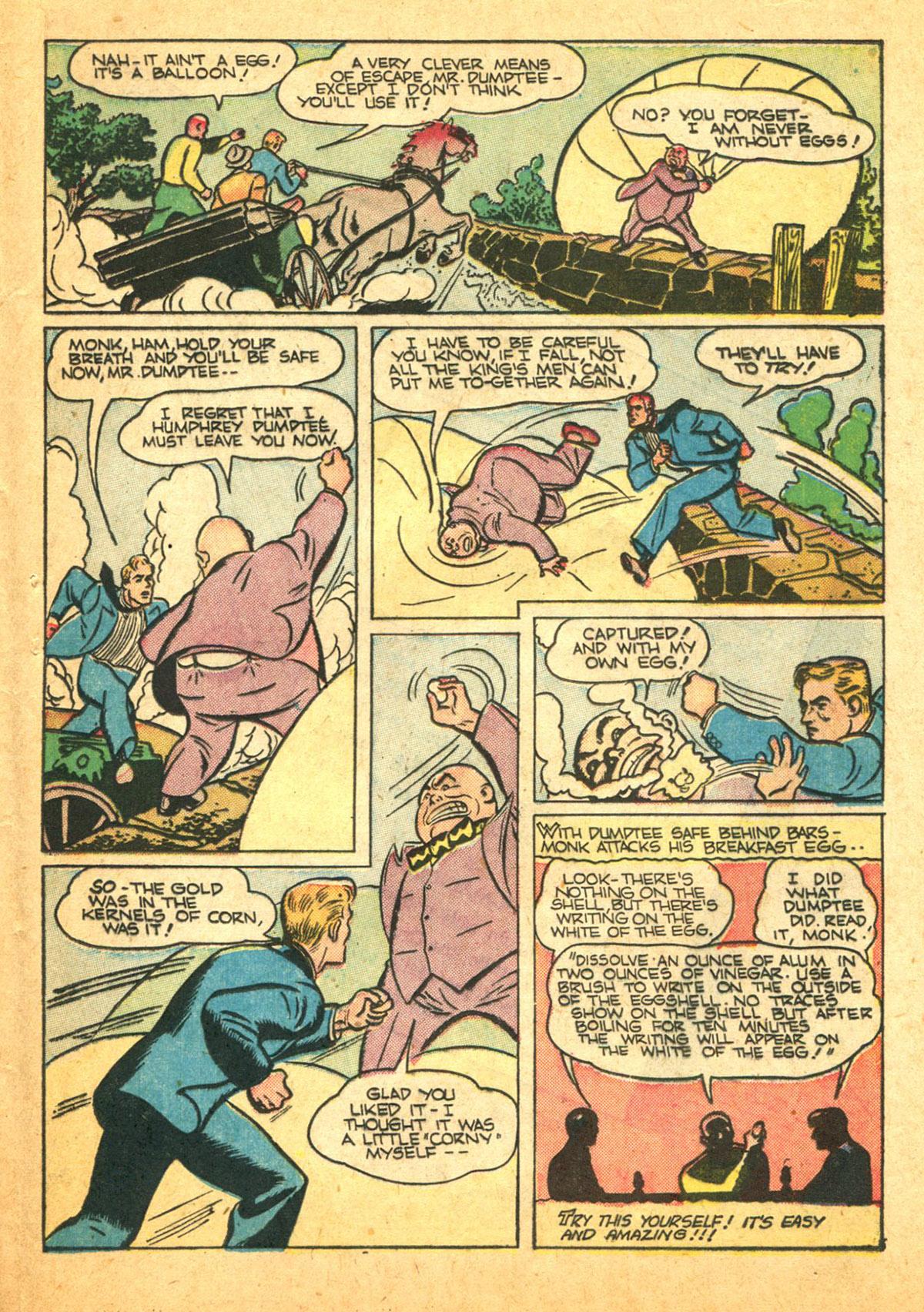 Read online Shadow Comics comic -  Issue #38 - 45