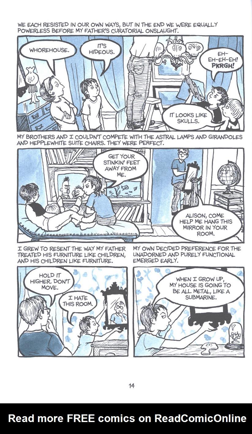 Read online Fun Home: A Family Tragicomic comic -  Issue # TPB - 21