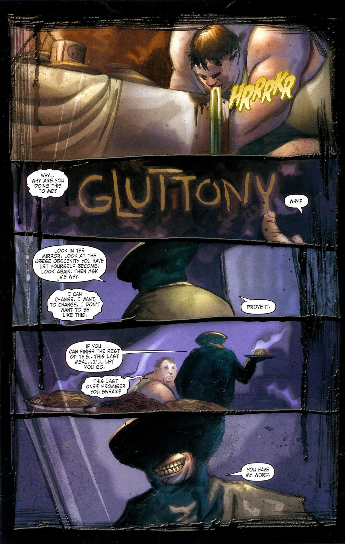 Read online Se7en comic -  Issue #1 - 17