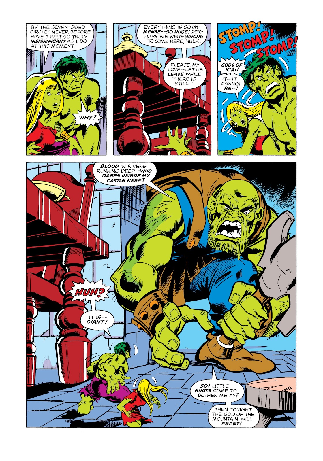 Read online Marvel Masterworks: The Incredible Hulk comic -  Issue # TPB 12 (Part 2) - 50