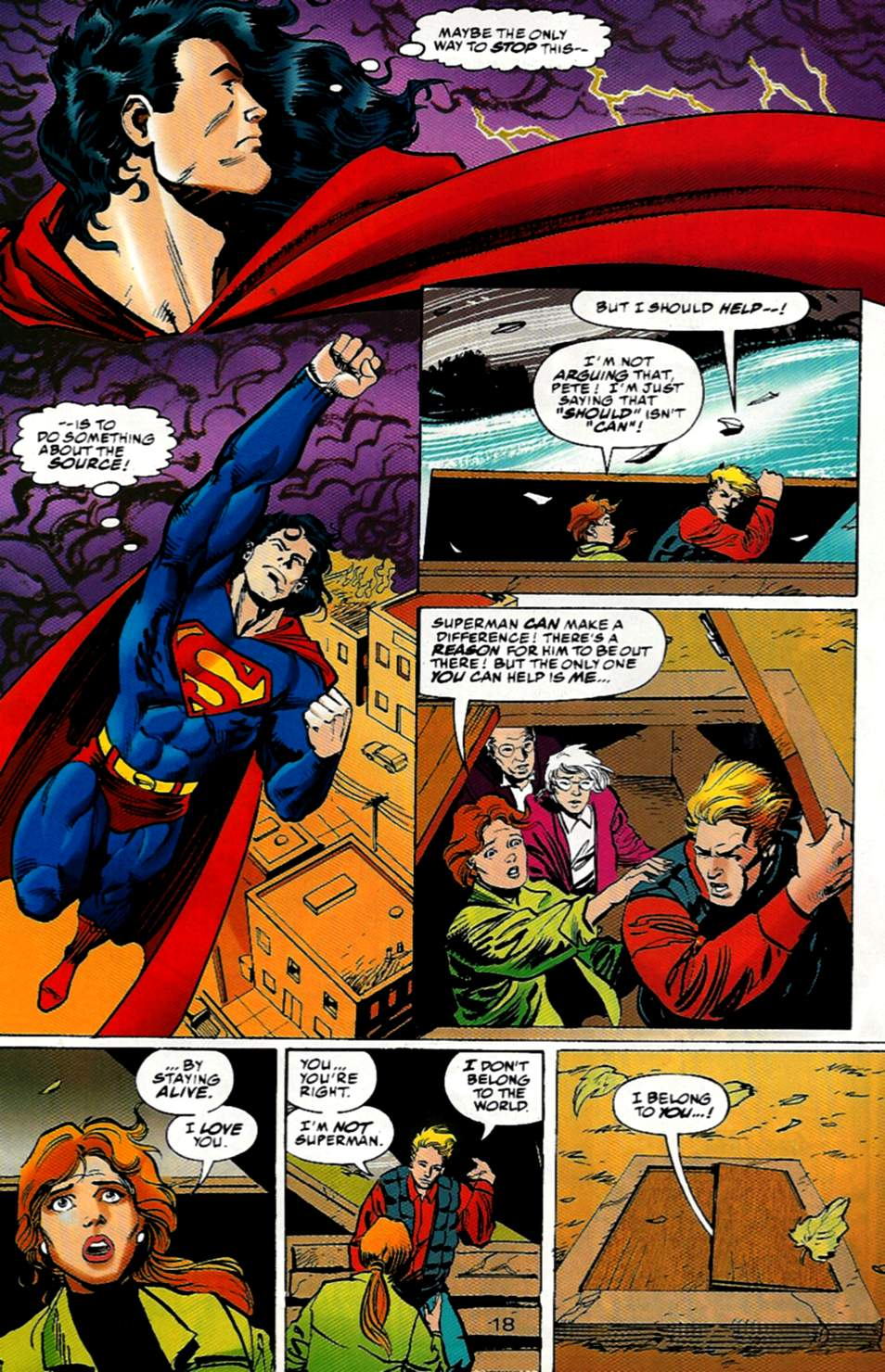 Read online Action Comics (1938) comic -  Issue #722 - 18