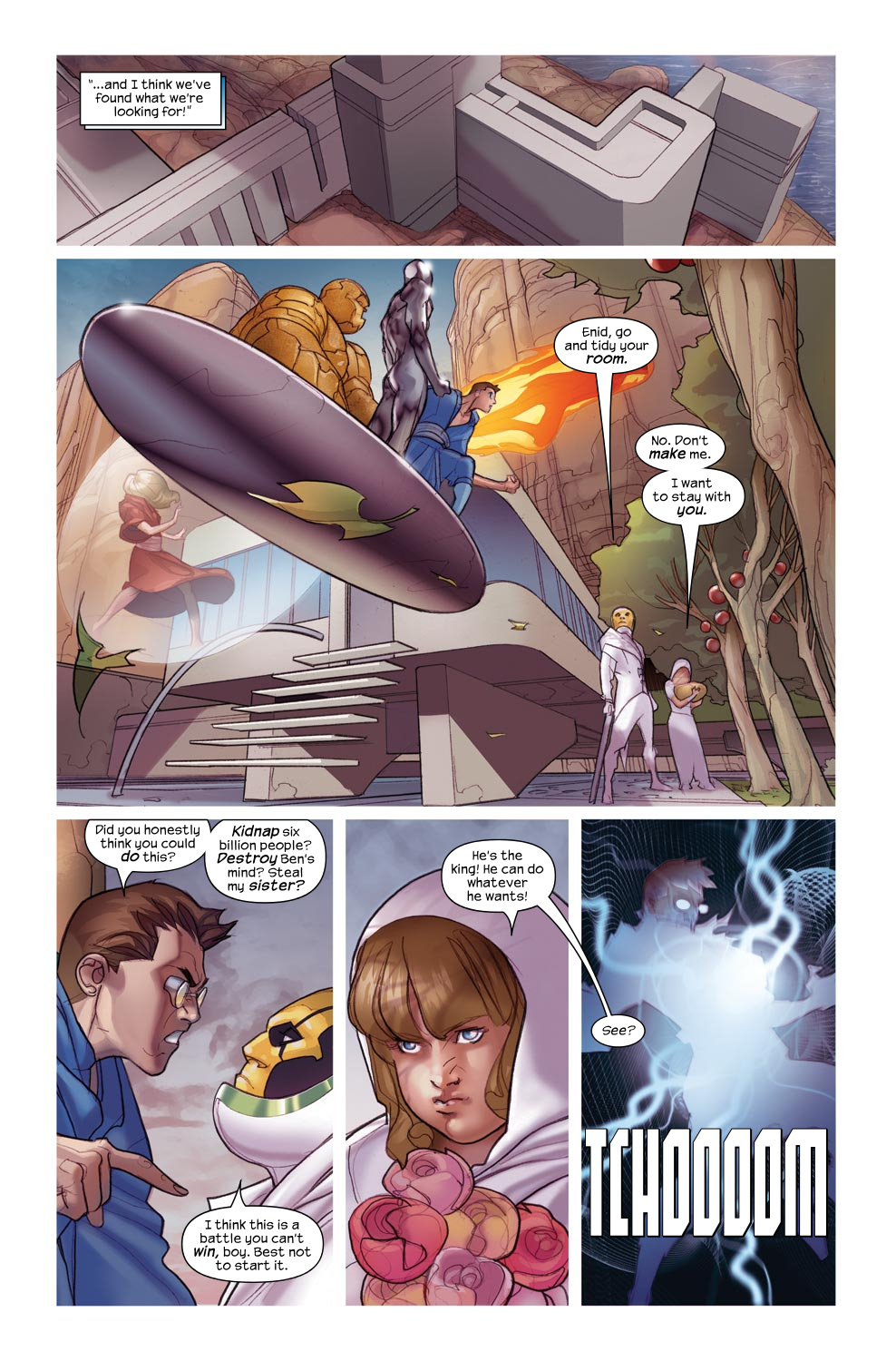 Read online Ultimate Fantastic Four (2004) comic -  Issue #46 - 14