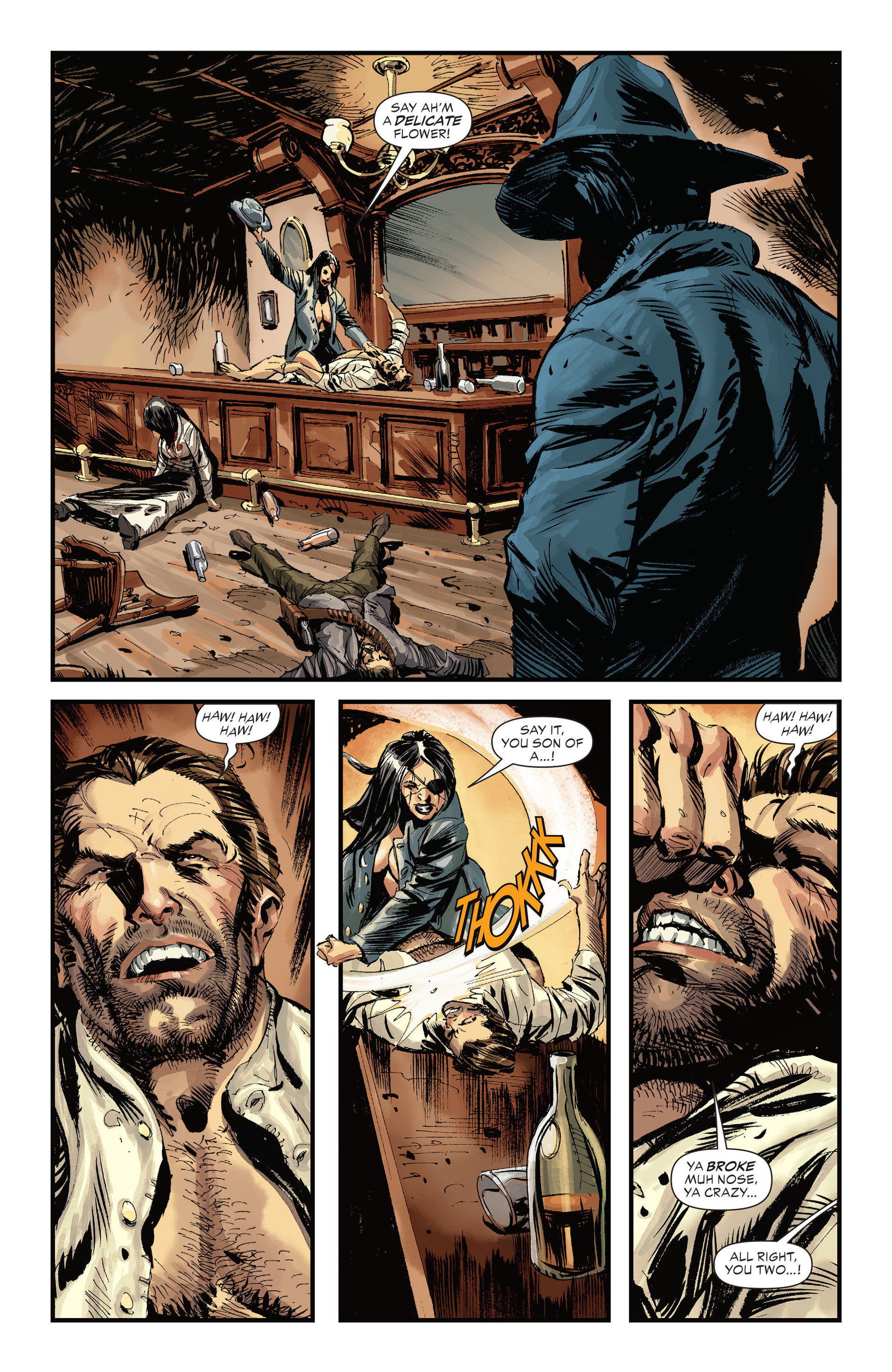 Read online All-Star Western (2011) comic -  Issue #31 - 8