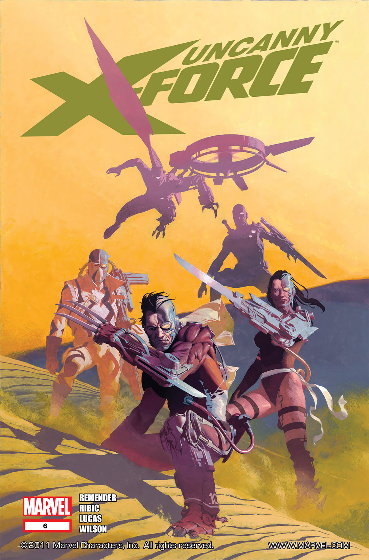 Read online Uncanny X-Force (2010) comic -  Issue #6 - 1
