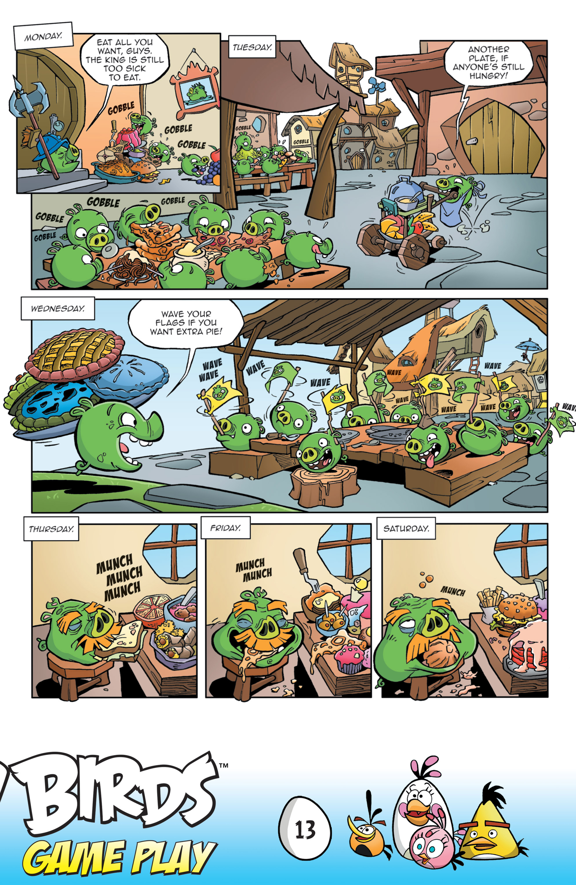 Read online Angry Birds Comics: Game Play comic -  Issue #3 - 15