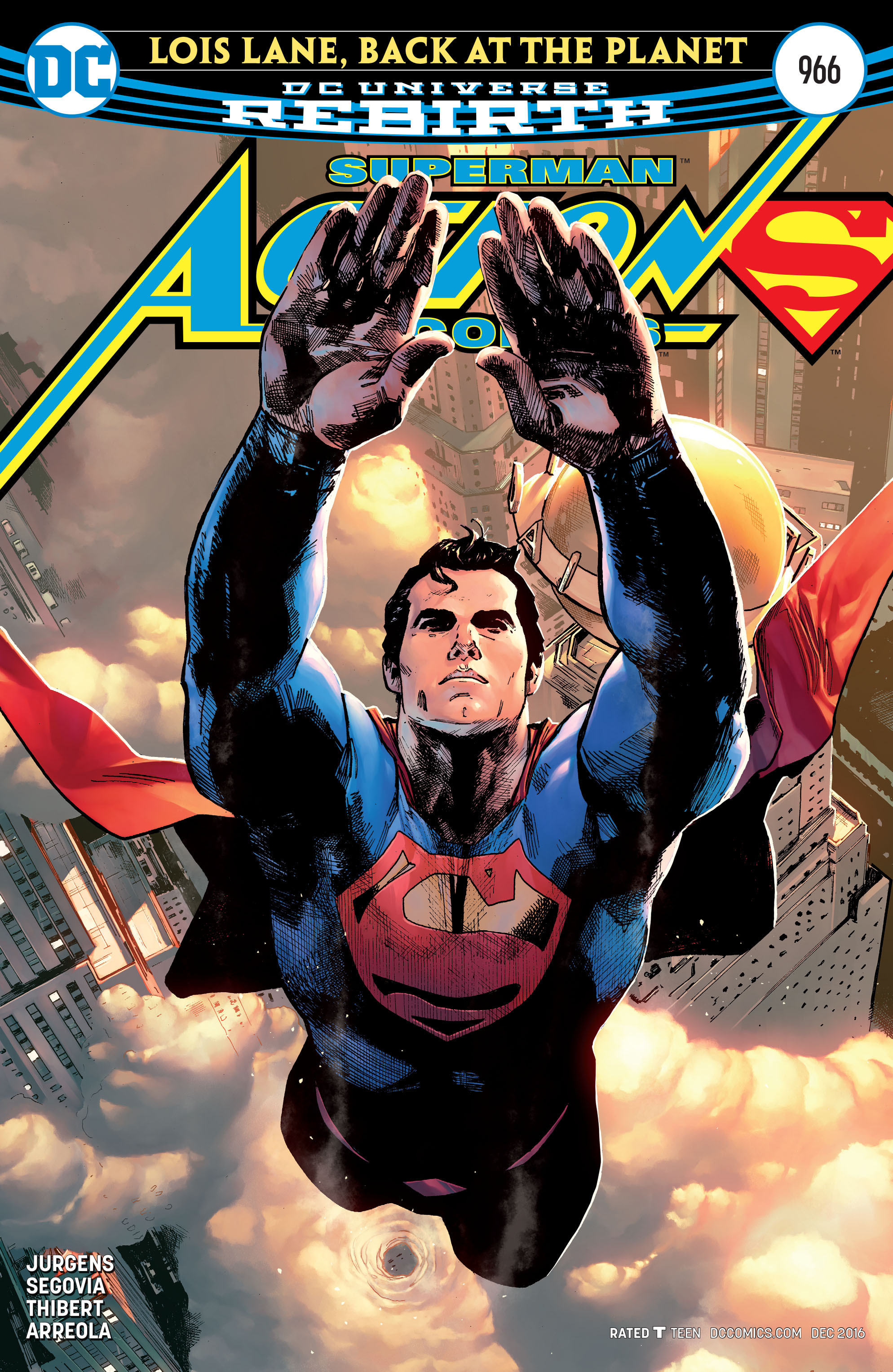 Read online Action Comics (2016) comic -  Issue #966 - 1