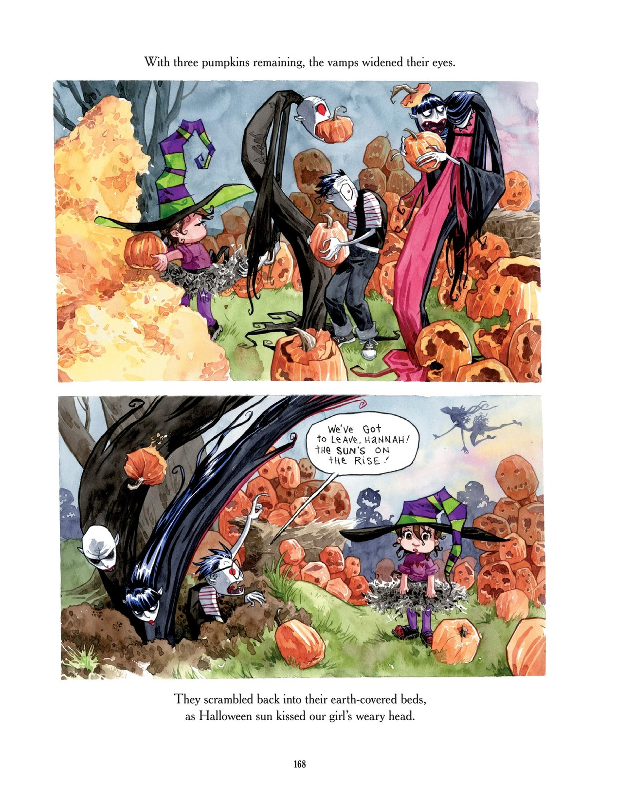 Read online Scary Godmother comic -  Issue # TPB - 168