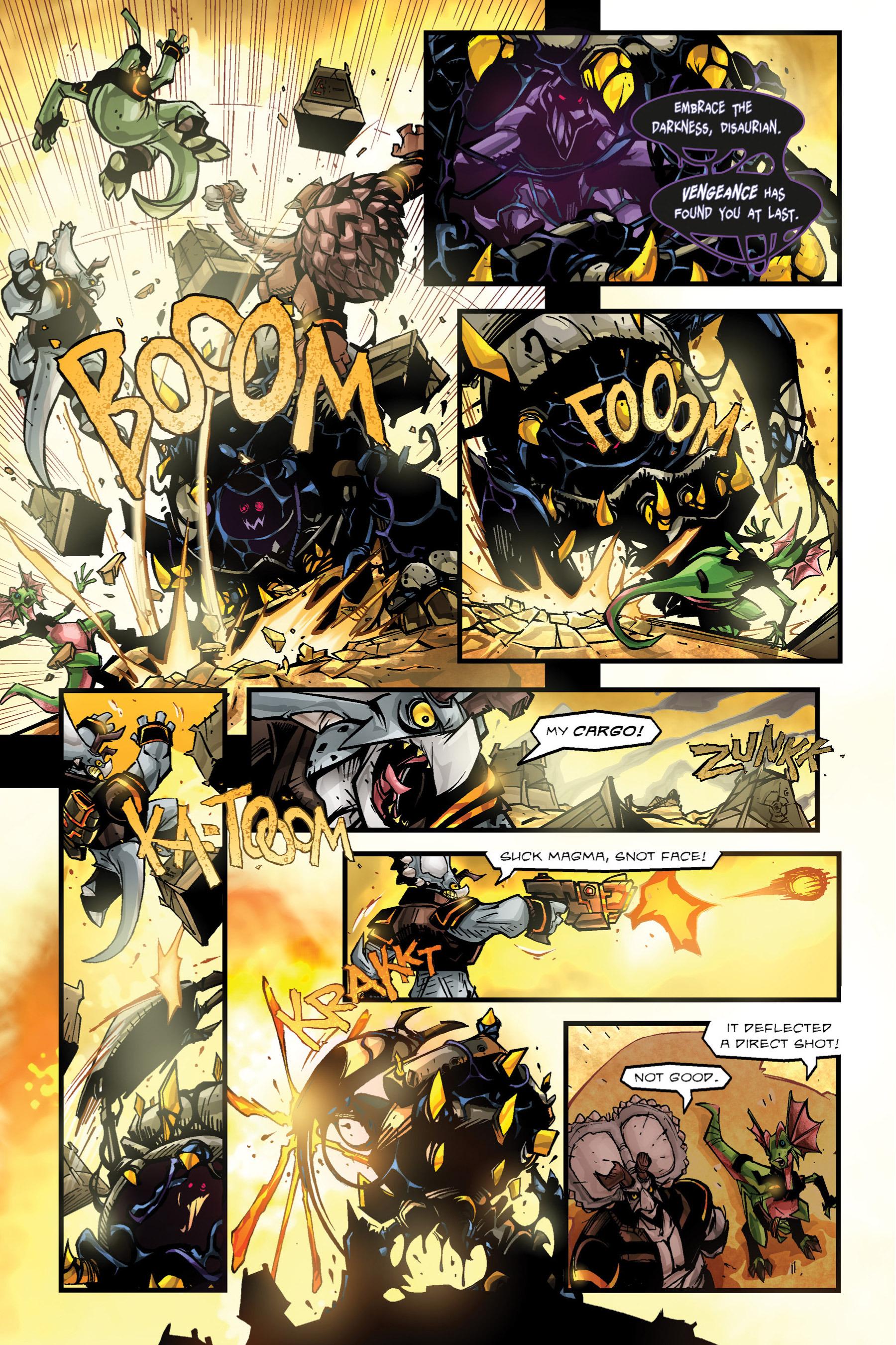 Read online Rexodus comic -  Issue # Full - 50