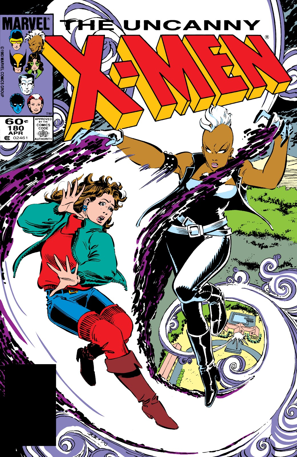 Uncanny X-Men (1963) issue 180 - Page 1
