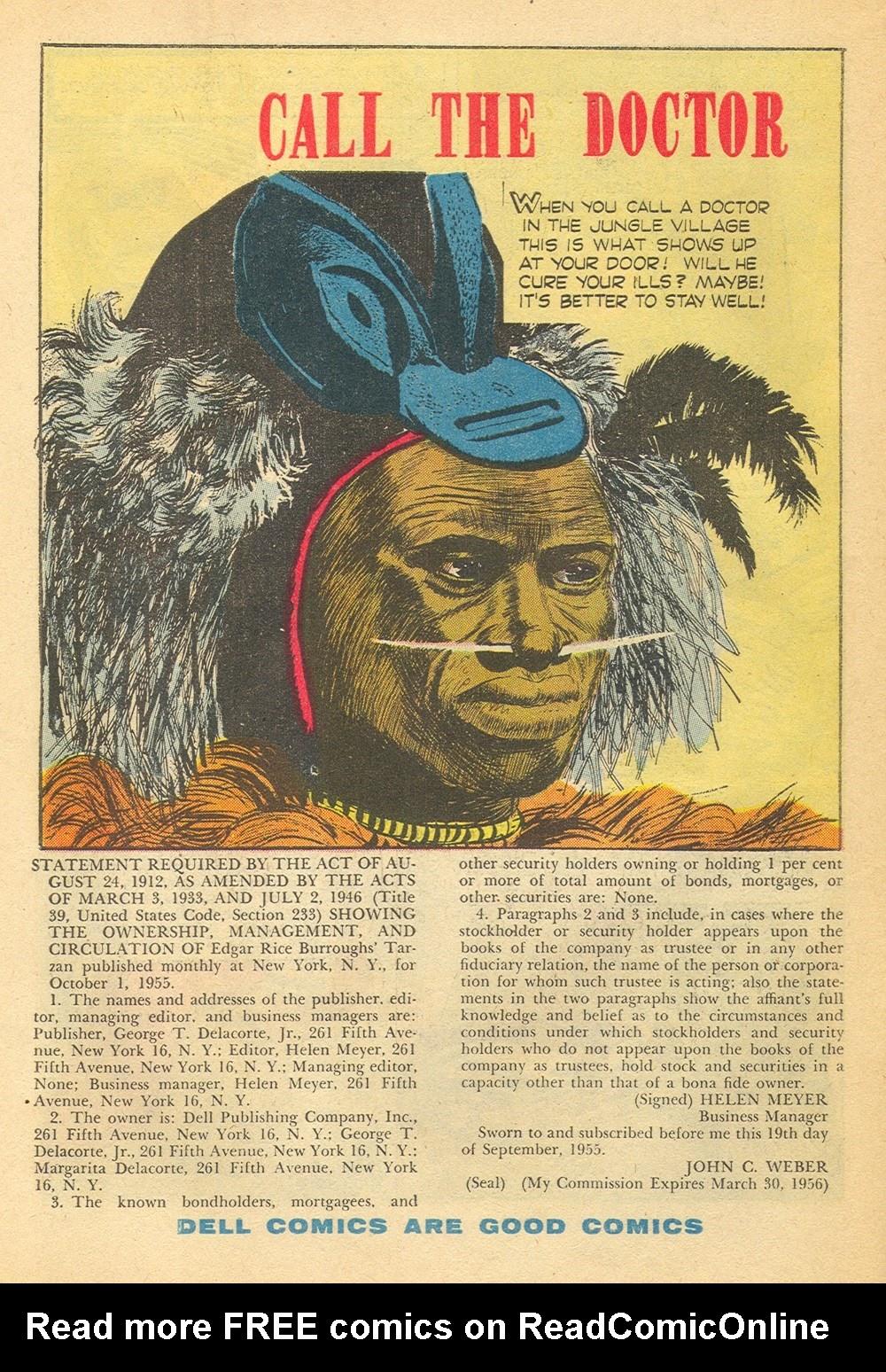 Tarzan (1948) issue 75 - Page 34