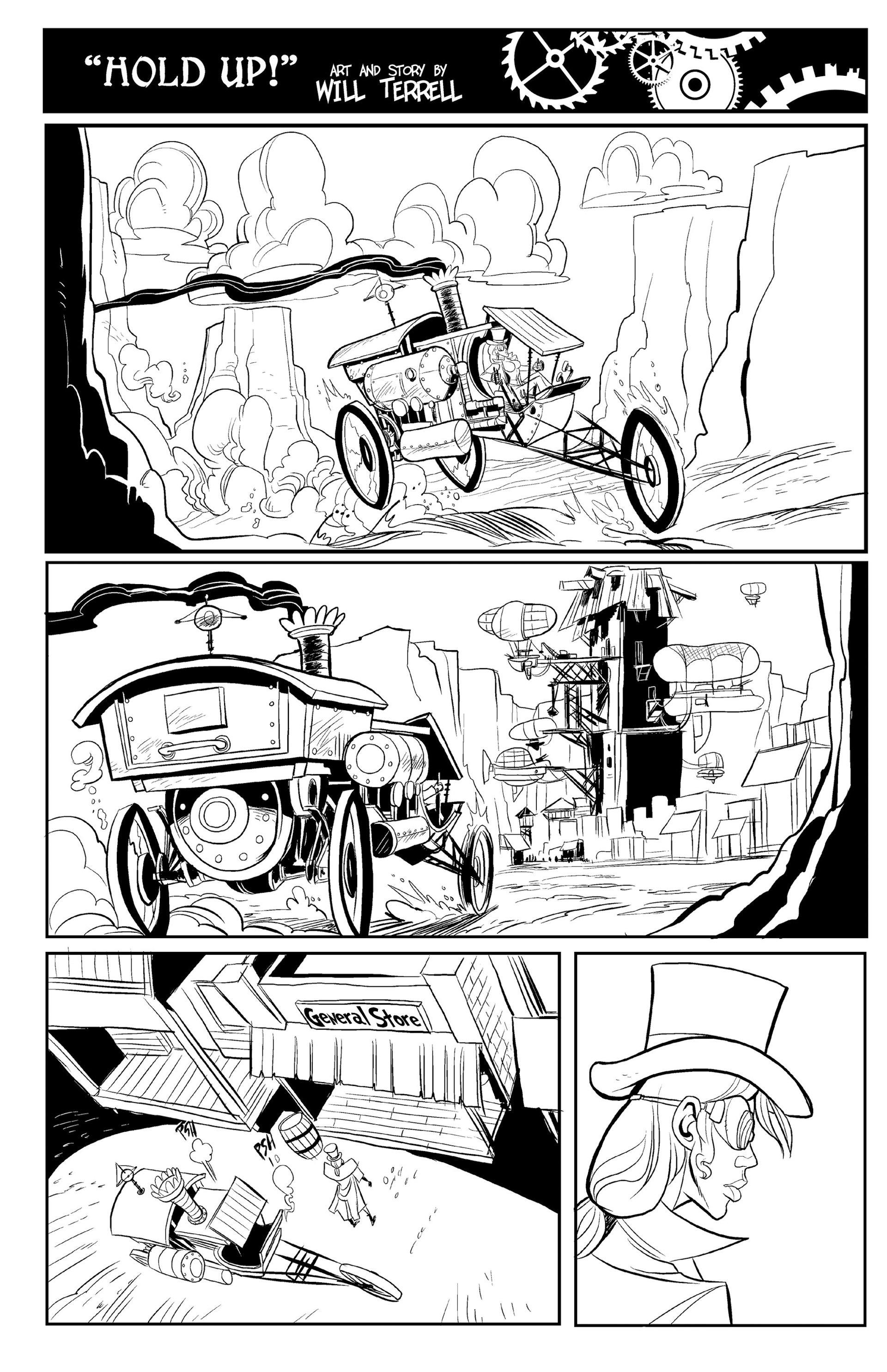 Read online Steampunk Halloween 2012 comic -  Issue # Full - 28