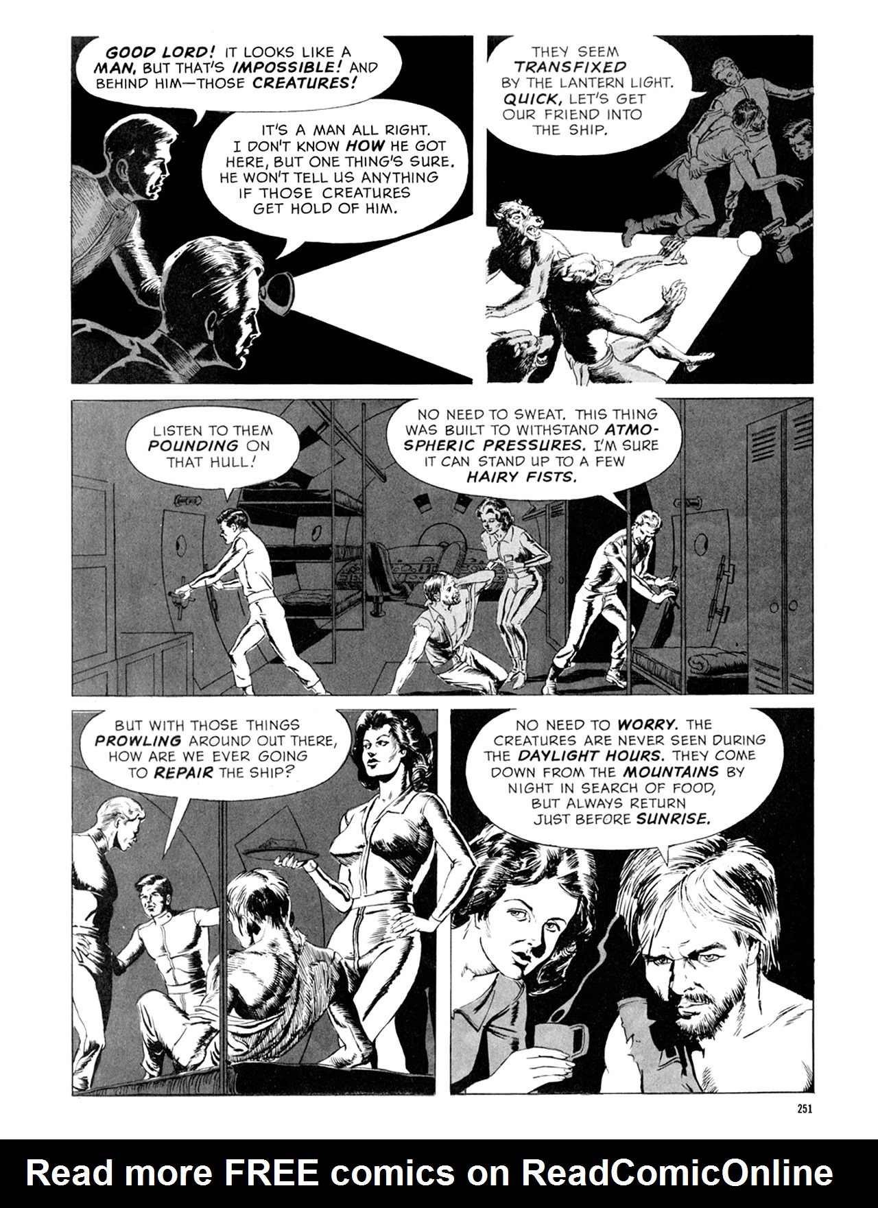 Read online Eerie Archives comic -  Issue # TPB 9 - 252
