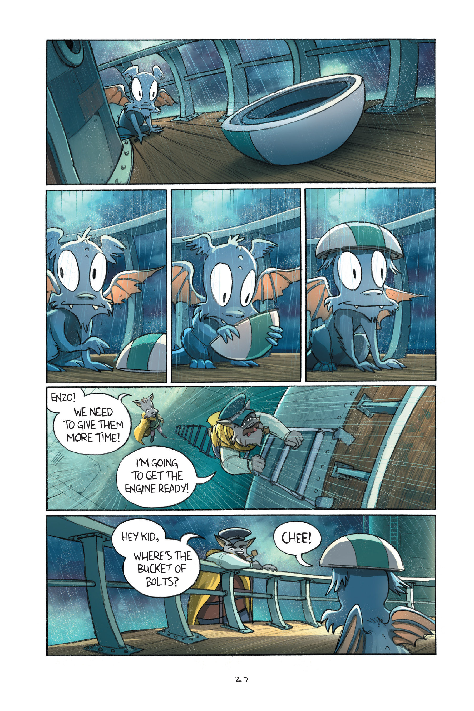 Read online Amulet comic -  Issue #7 - 30