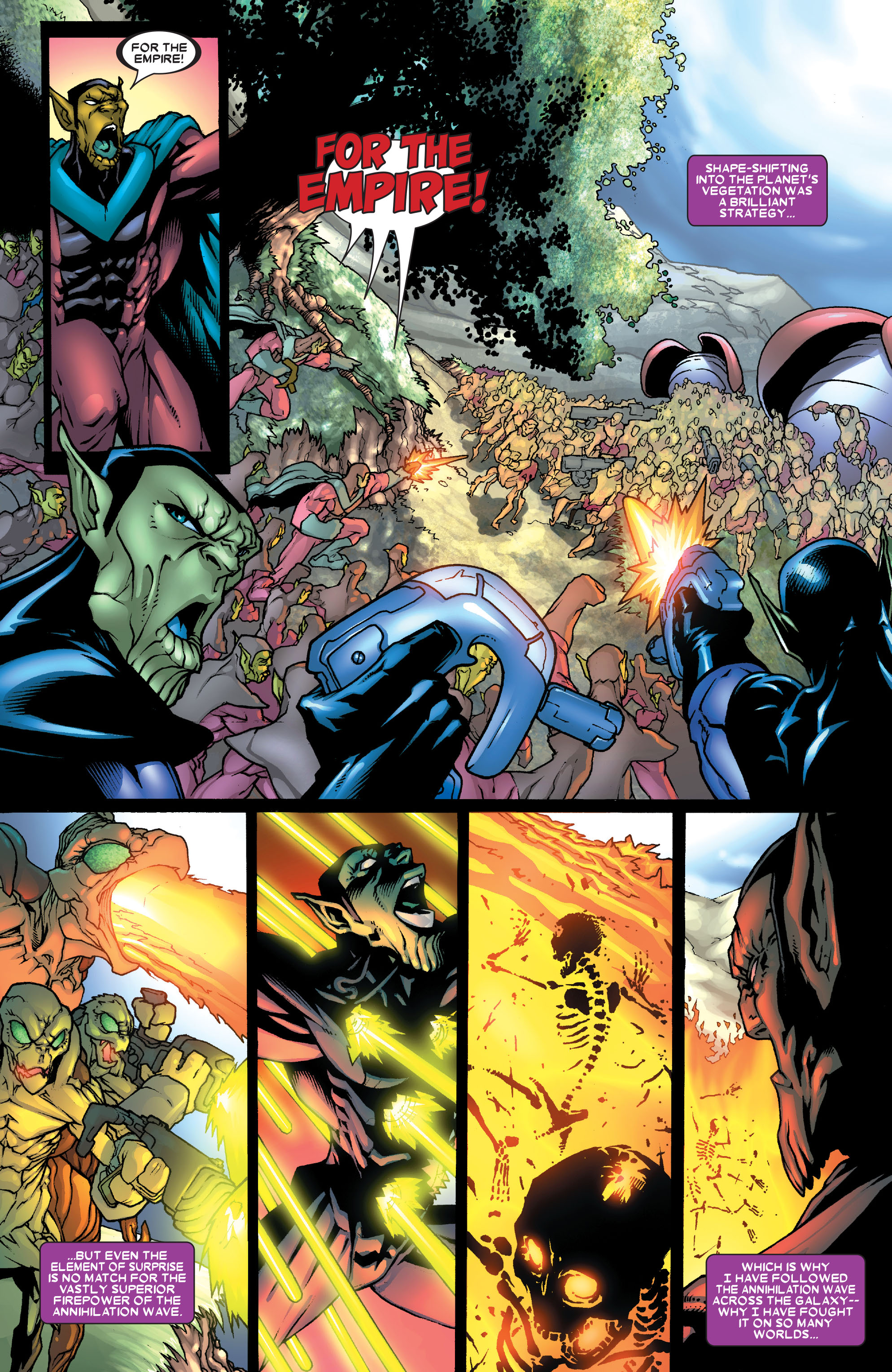 Read online Annihilation: Super-Skrull comic -  Issue #1 - 4