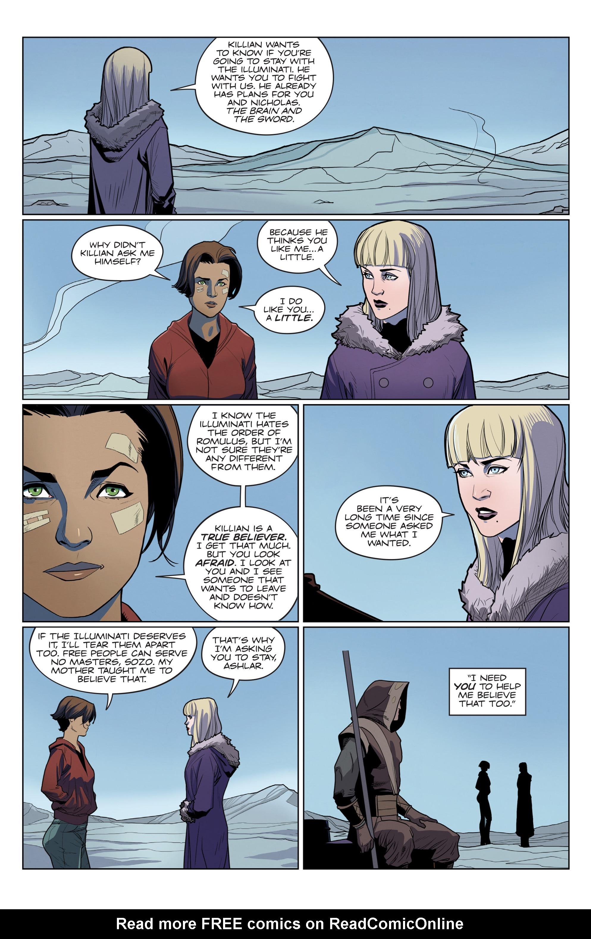 Read online Romulus comic -  Issue #4 - 19