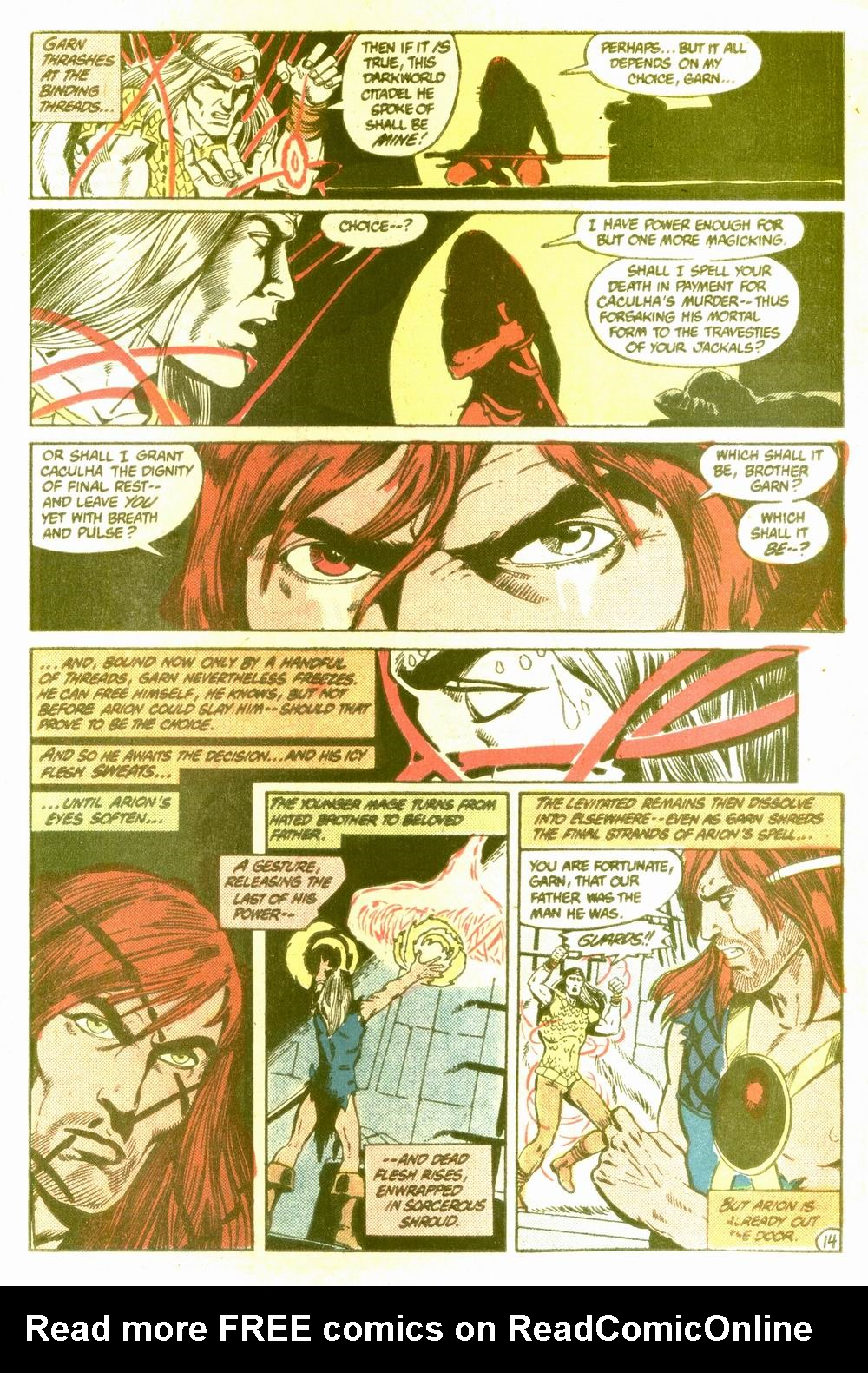 Read online Arion, Lord of Atlantis comic -  Issue #5 - 15