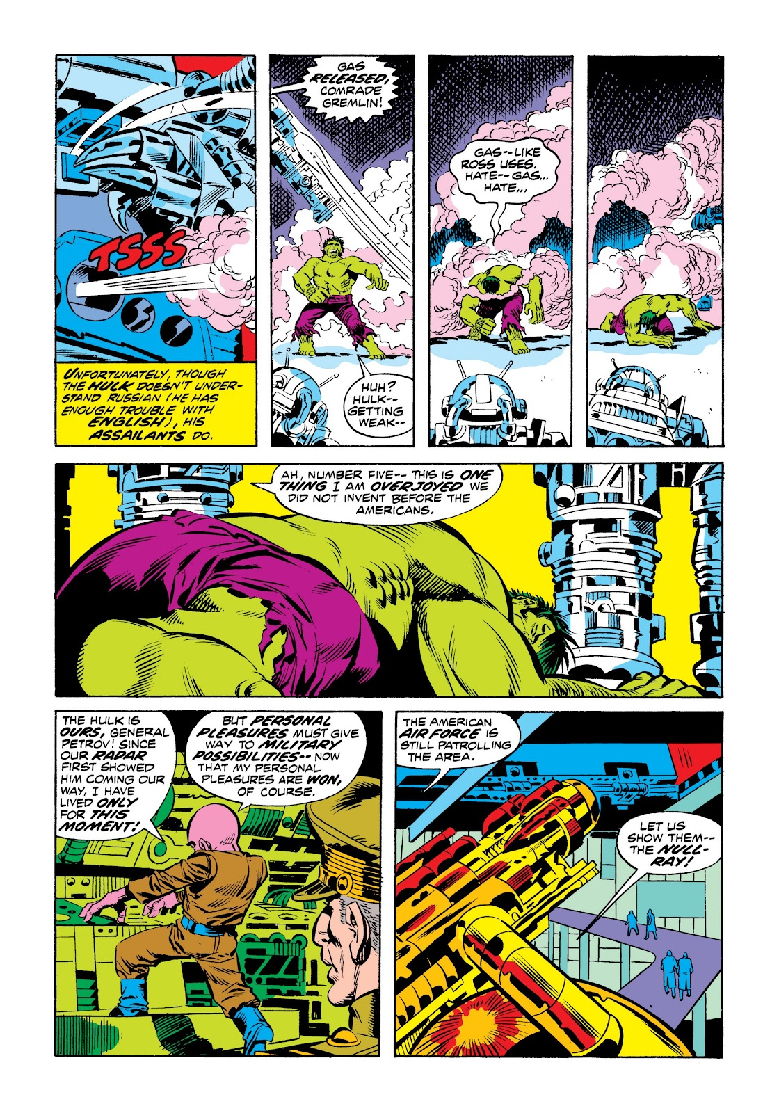 Read online Marvel Masterworks: The Incredible Hulk comic -  Issue # TPB 9 (Part 2) - 45