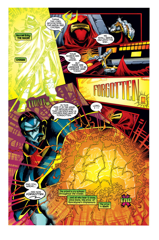 Read online Age of Apocalypse: The Chosen comic -  Issue #Age of Apocalypse: The Chosen Full - 23