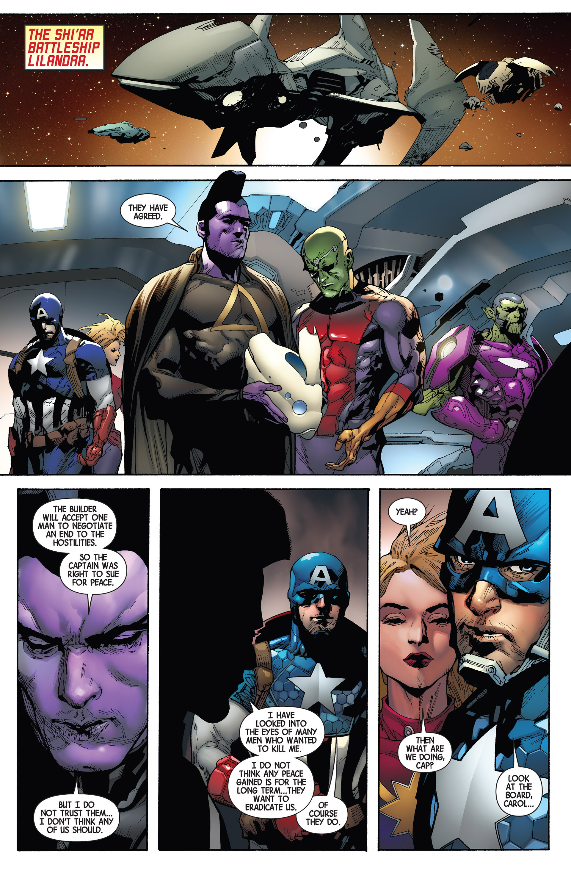 Read online Avengers (2013) comic -  Issue #20 - 27