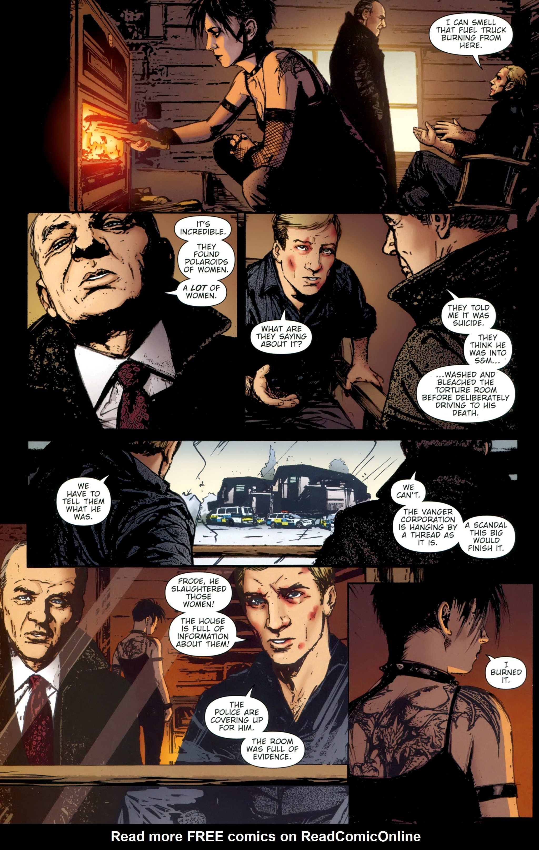 Read online The Girl With the Dragon Tattoo comic -  Issue # TPB 2 - 114