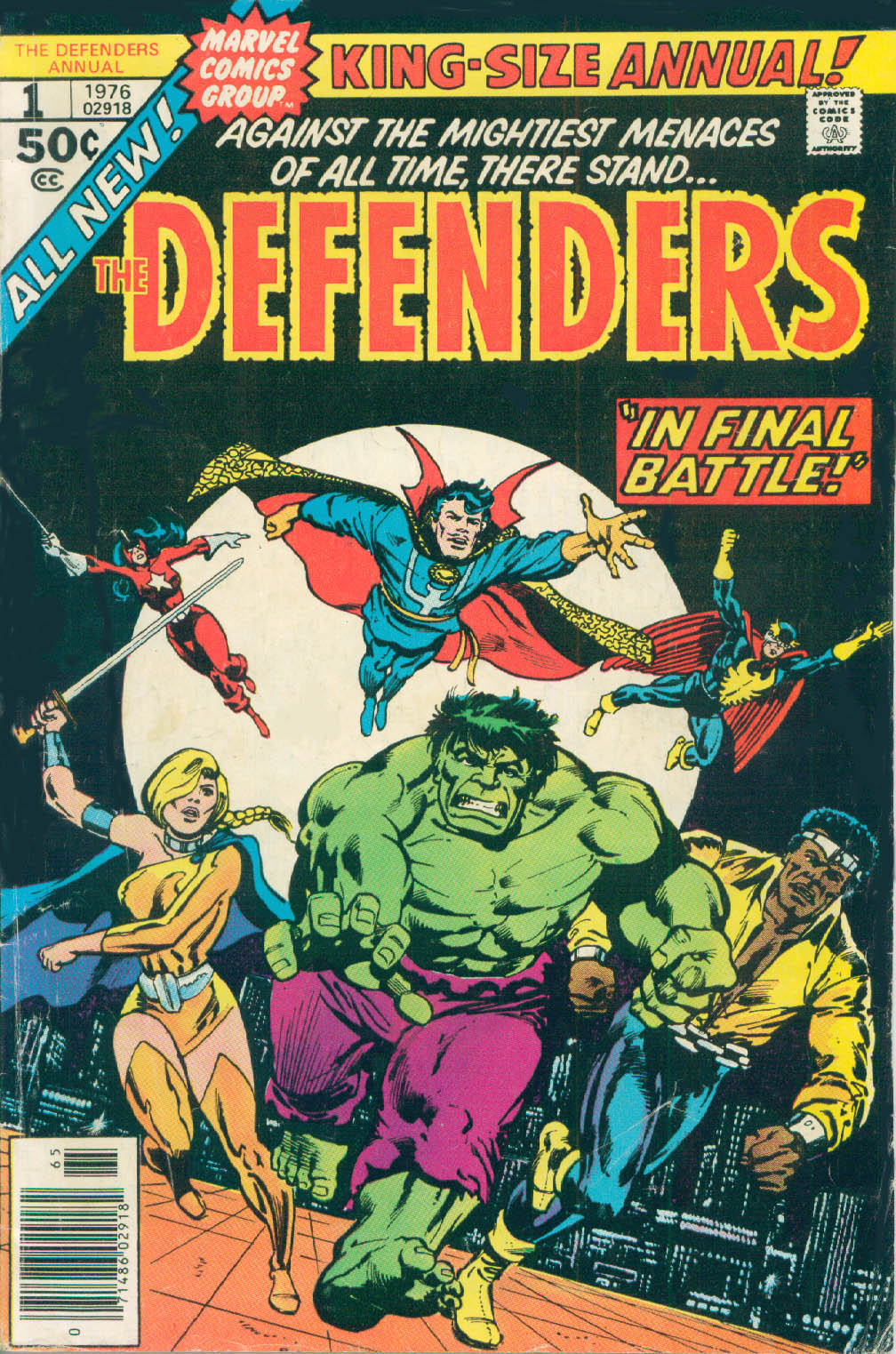 The Defenders (1972) _Annual_1 Page 1