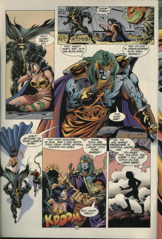 Read online Godwheel comic -  Issue #1 - 21