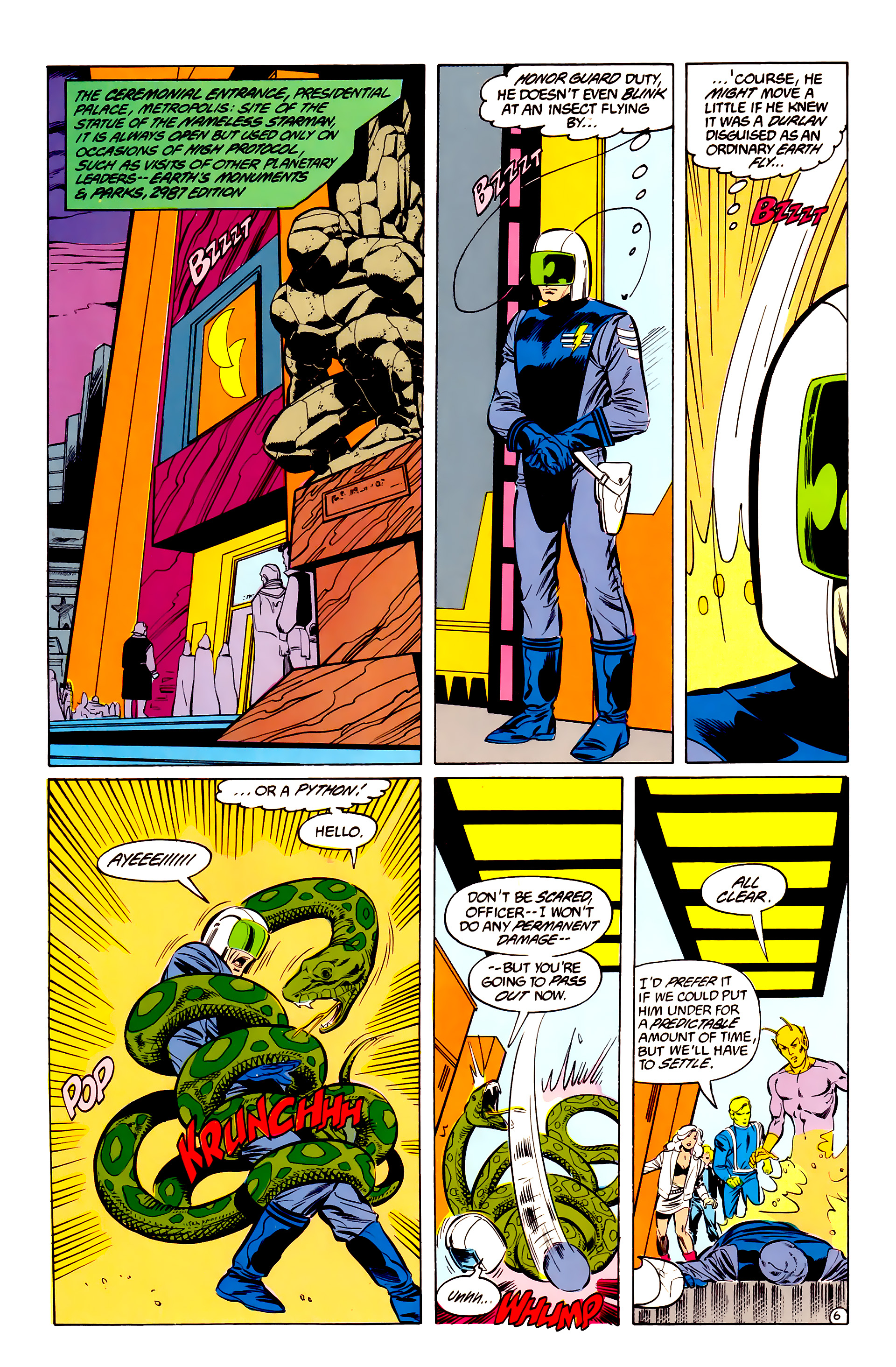 Legion of Super-Heroes (1984) 35 Page 6