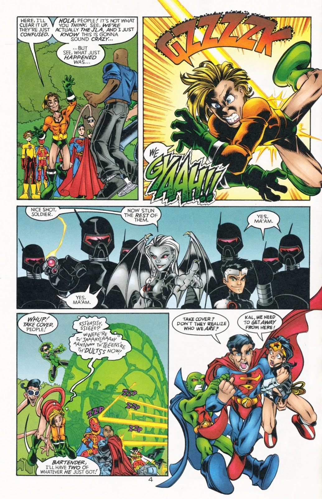 Sins of Youth issue JLA Jr. - Page 6