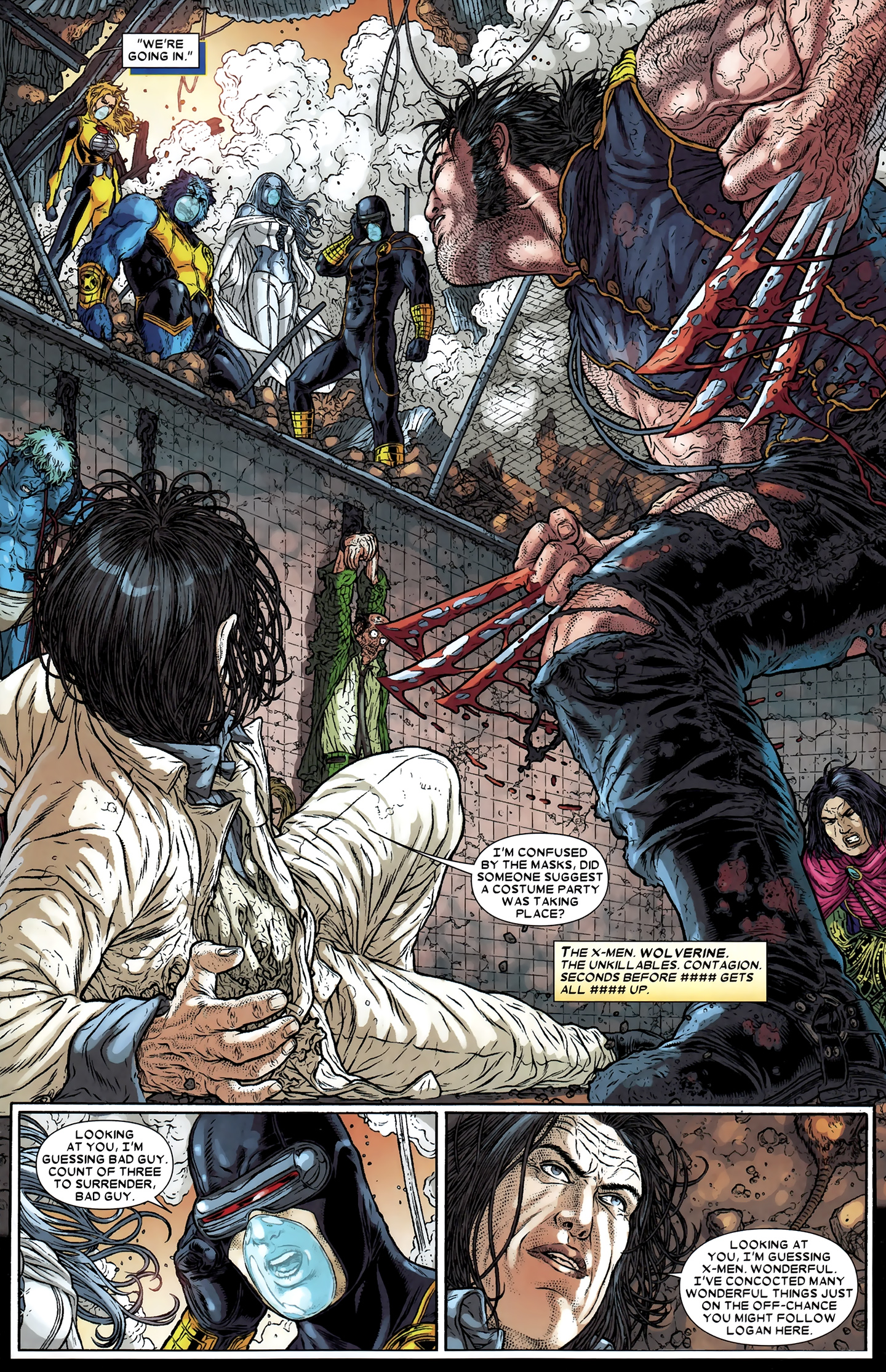 Read online Wolverine: The Best There Is comic -  Issue #12 - 4